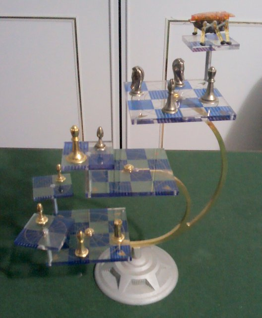 Star Trek Tridimensional Chess Set Jpg Exeter Chess Club